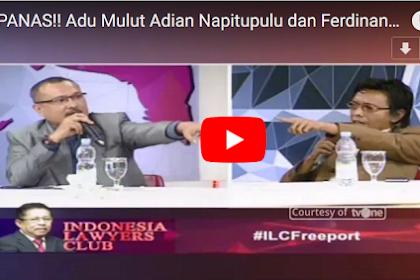PANAS!!! ILC TvOne, Ferdinand Hutahaean Debat dengan Adian Napitupulu, Karni Ilyas Terpaksa Bubarkan Sesi