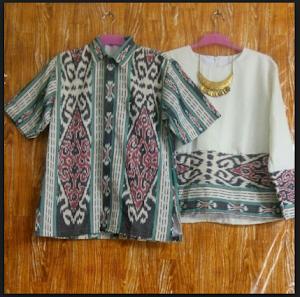 Baju Batik Tenun Couple yang Kece Badai