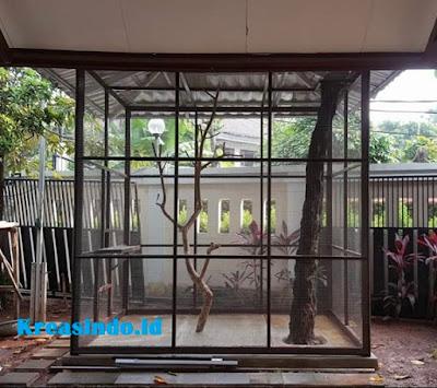 Jasa Kandang Besi di Bekasi untuk Kandang Burung