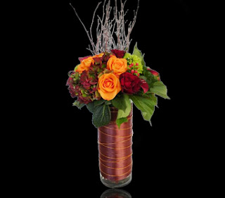 Autumn In Boston Custom Floral Arrangement