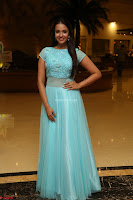 Pujita Ponnada in transparent sky blue dress at Darshakudu pre release ~  Exclusive Celebrities Galleries 024.JPG