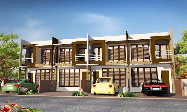 Desain Rumah Kost Yang Asri 2 Lantai Mewah