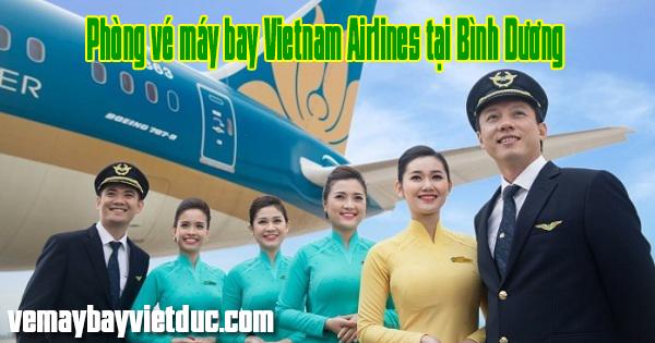 phòng bán vé máy bay Vietnam Airlines tại tỉnh Bình Dương