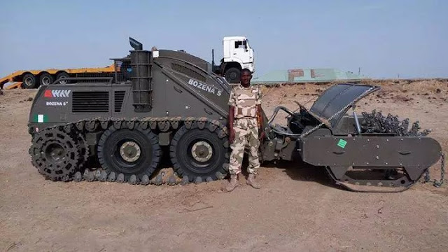 Nigerian army acquires more sophisticated military equipment to fight Boko Haram (photos
