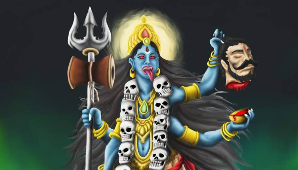 Hint mitolojisi, Kali, Tanrıça Kali, Hint Tanrıçaları, Ölüm tanrıçası, Kıyamet tanrıçası, Parvati, Şiva, Hint efsaneleri, Kali'nin doğuşu, Durga, Mahishasura, Mahisa, A, mitoloji,