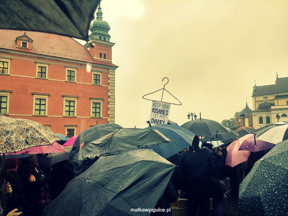 Strajk kobiet, Dzień kobiet, Ogólnopolski Strajk Kobiet, czarny poniedziałek