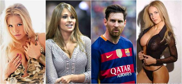 Lionel Messi dating historie