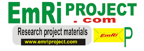 emri project topics and materials