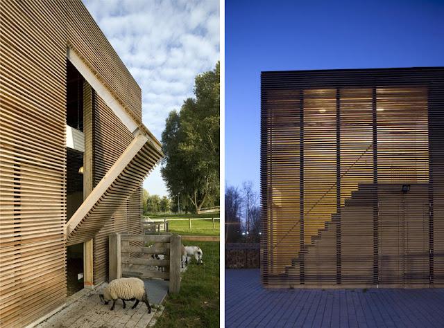 Revestimientos de madera en exterior espacios en madera Revestimiento de madera para muros interiores