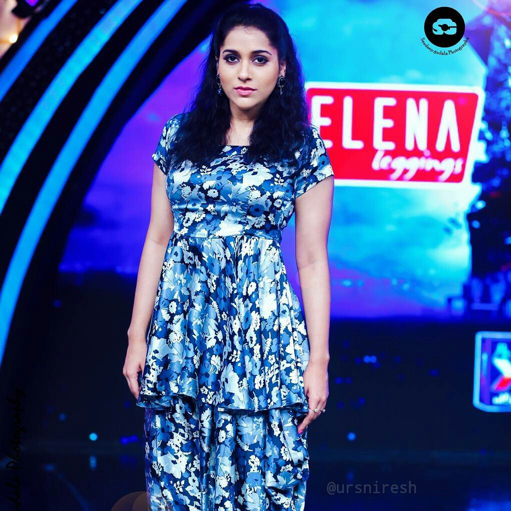 Rashmi Gautam from Dhee 10 Show Latest Stills