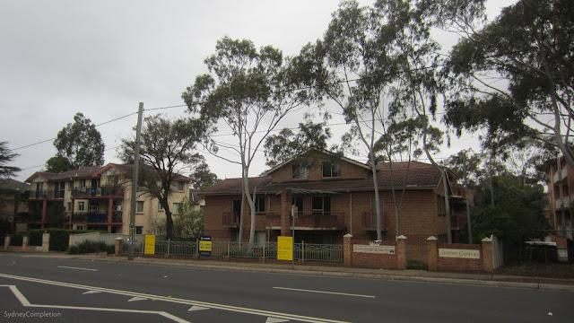 Wentworthville residential street