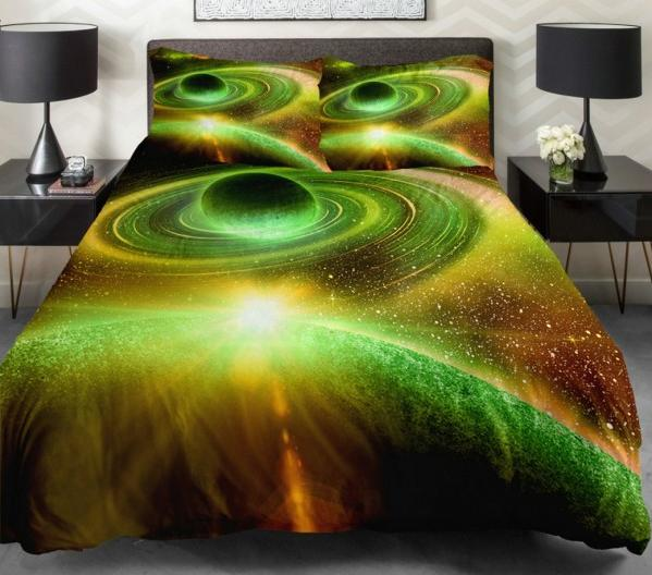 Spectacular Galaxy Bedding Set