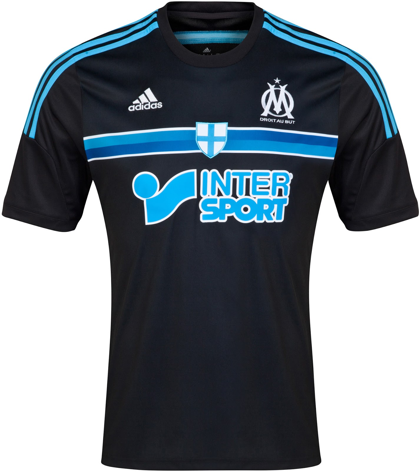 Olympique marseille 14 15 home away and third kits for Decoration chambre olympique de marseille