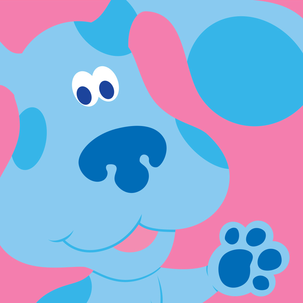 It is a photo of Clever Blues Clues Clue