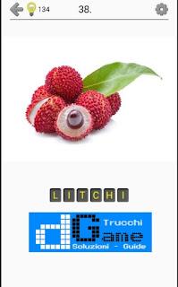 Soluzioni Frutti, verdure e noce livello 38