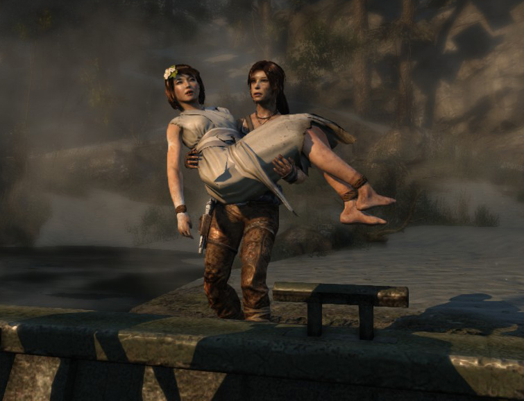 Is The Rebooted Lara Croft Gay Evidence For And Against