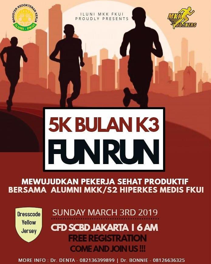 Bulan K3 Fun Run • 2019