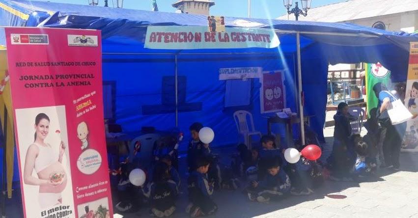 Santiago de Chuco se une a la lucha contra la anemia