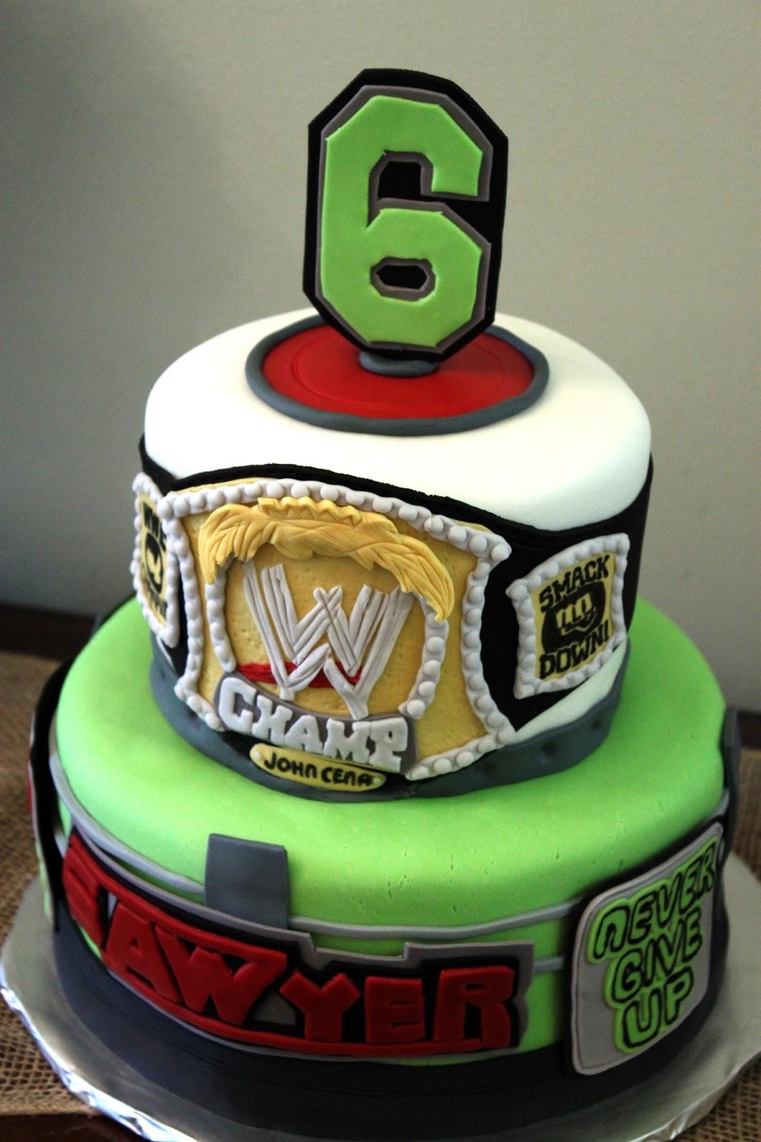 Layers Of Love John Cena Cake