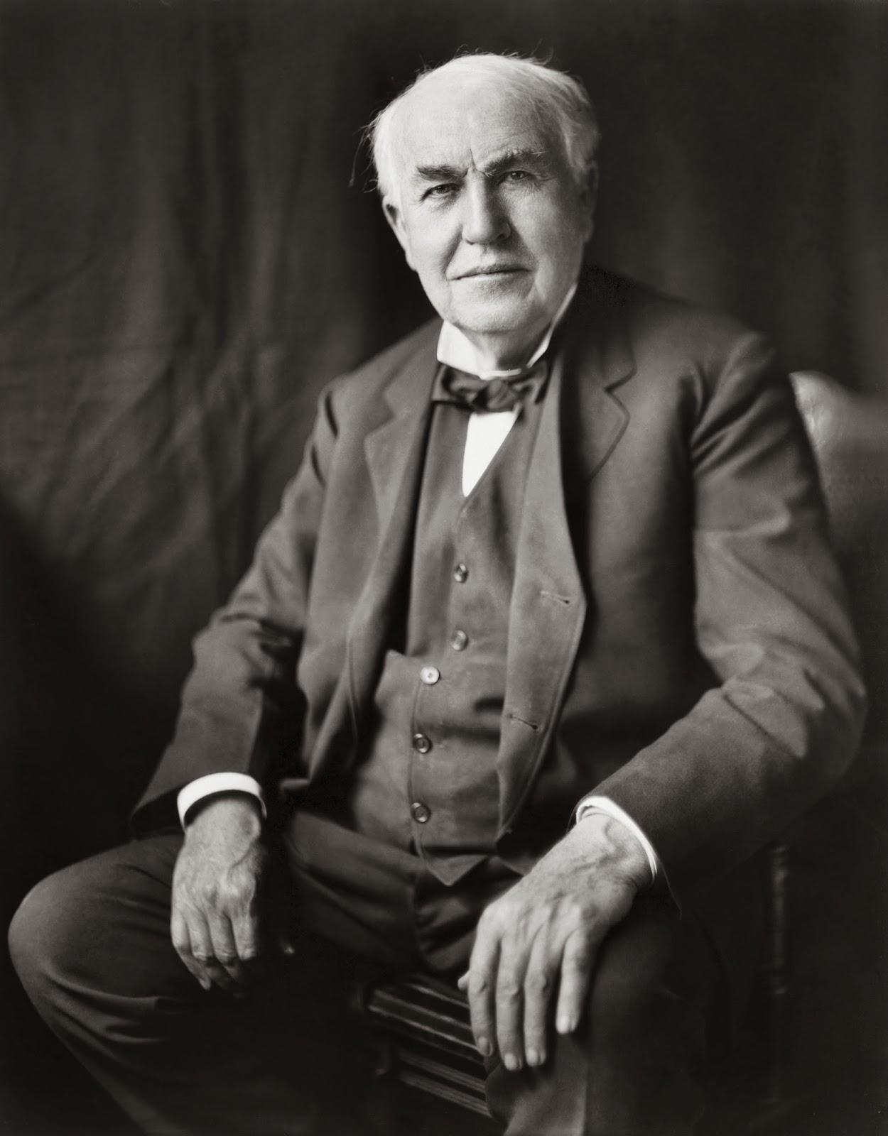 Kata Mutiara Bijak Dari Thomas Alva Edison