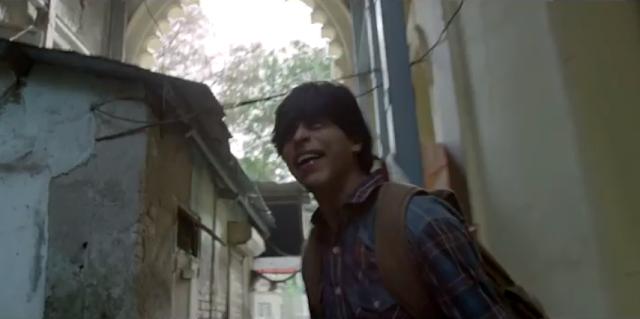 Shah Rukh Khan in the movie fan.