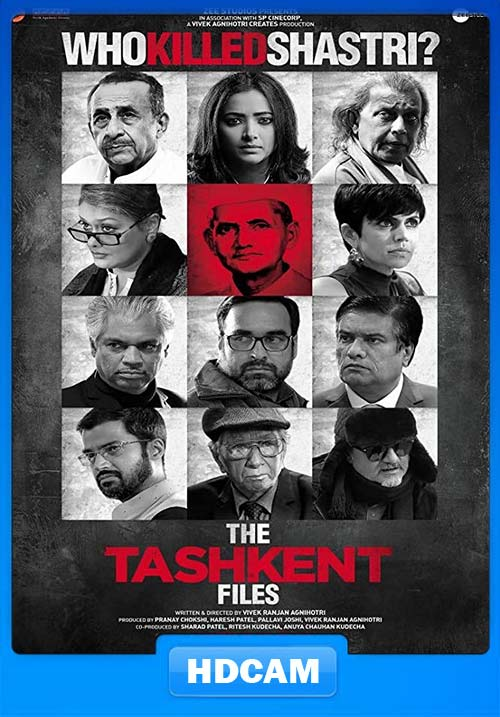 The Tashkent Files 2019 Hindi PreDVDRip x264 | 480p 300MB | 100MB HEVC