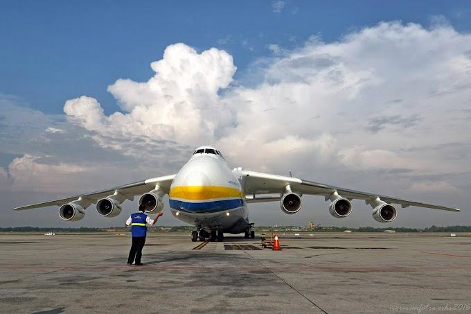 [Video & Gambar] Fakta Yang Anda Ingin Tahu Mengenai Kapal Terbang Terbesar Di Dunia #Antonov #Mriya