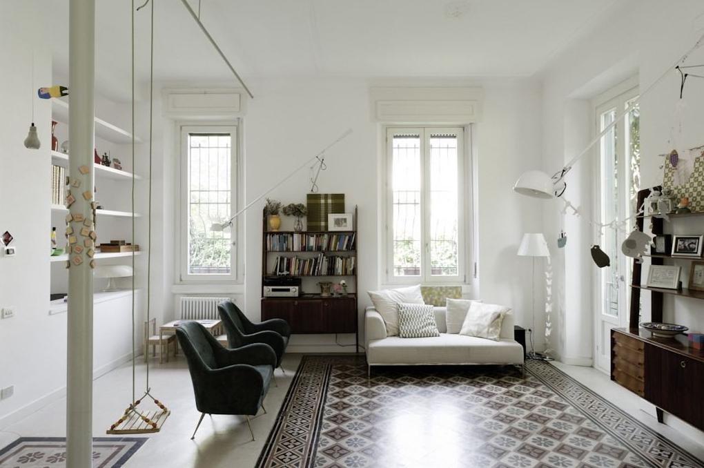 Appartamento giulio cesare milano by elena tirinnanzi e for Appartamento design interni