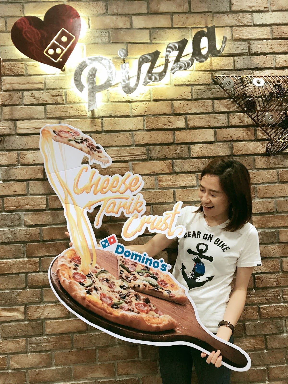 [Event] Tarilklah Puas-puas With The New Domino's Cheese Tarik Crust!
