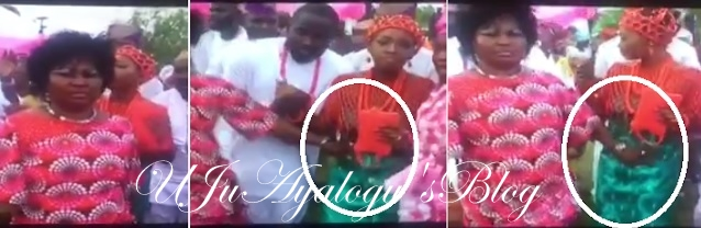 Shocking Video Of Evil Woman Touching Bride Womb On Her Wedding Day