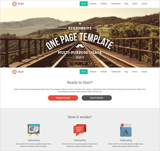 One Page Template Scrolling Script
