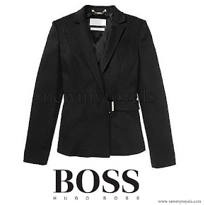 Queen Letizia wore HUGO BOSS Fashion show blazer FS Jesila