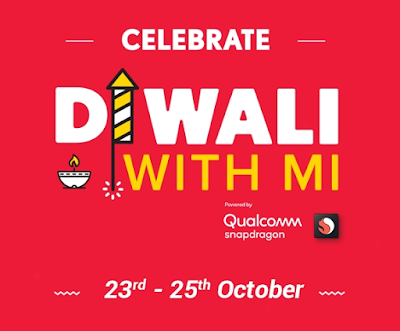 'Diwali With MI' Sale starts from October 23 to 25 | Special Offers | Flash Sale | Discounts