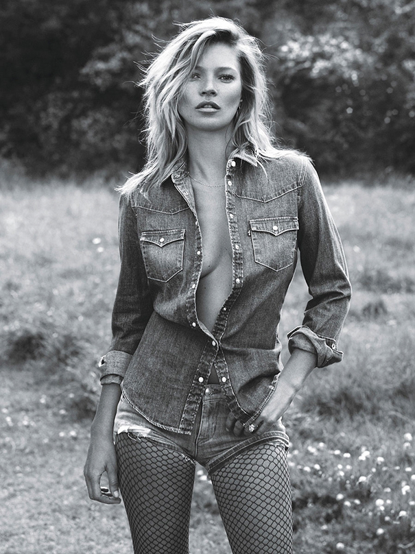 How The Female Body Standards Have Been Altered Over 100 Years - Kate Moss