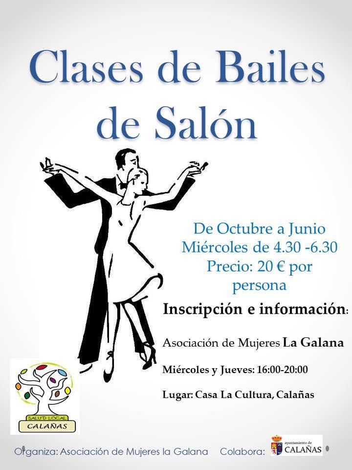 Clases de bailes de sal n el morante es for Academias de bailes de salon en madrid