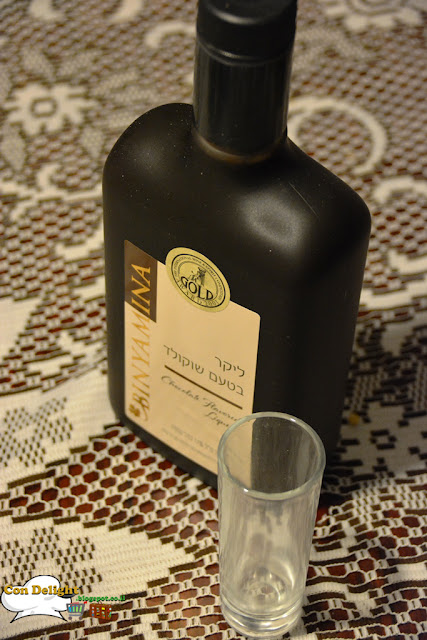 chocolate liqueur Binyamina winery