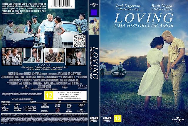 Capa DVD Loving Uma História de Amor [Exclusiva]
