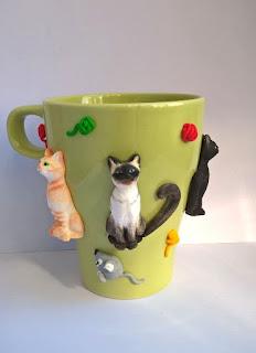 Cana personalizata cu pisicute