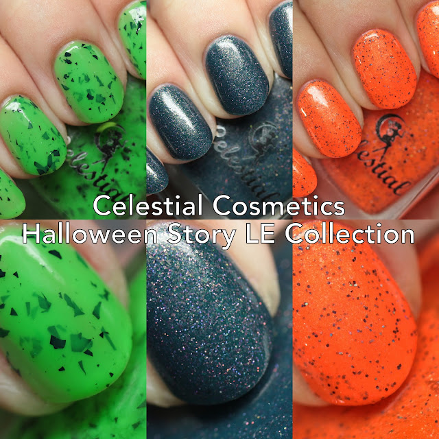 Celestial Cosmetics Halloween Story LE Collection