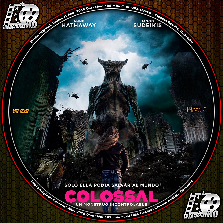 Colossal [2016] [NTSC/DVDR] Ingles, Subtitulos Español