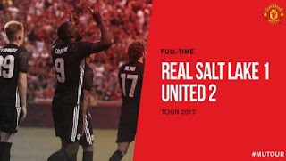 Video Gol Real Salt Lake vs Manchester United 1-2 #MUFC #MUTOUR