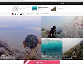 تحميل قالب بلوجر أجنبي ومجاني لإنشاء مدونة جميلة أو مجلة