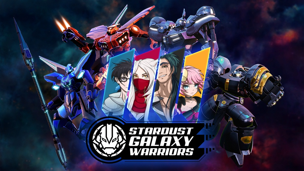 Stardust Galaxy Warriors Download Poster