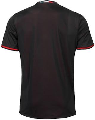 Jersey Kandang AC Milan Musim 2016-2017