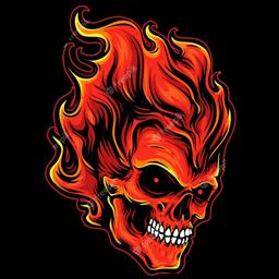logo kepala tengkorak