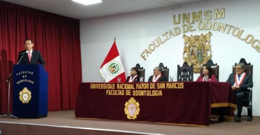 Presidente Vizcarra anuncia el mejoramiento de las universidades públicas
