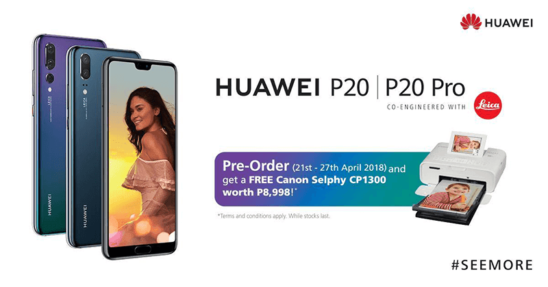 Huawei announces pre-order details for P20 and P20 Pro in PH!
