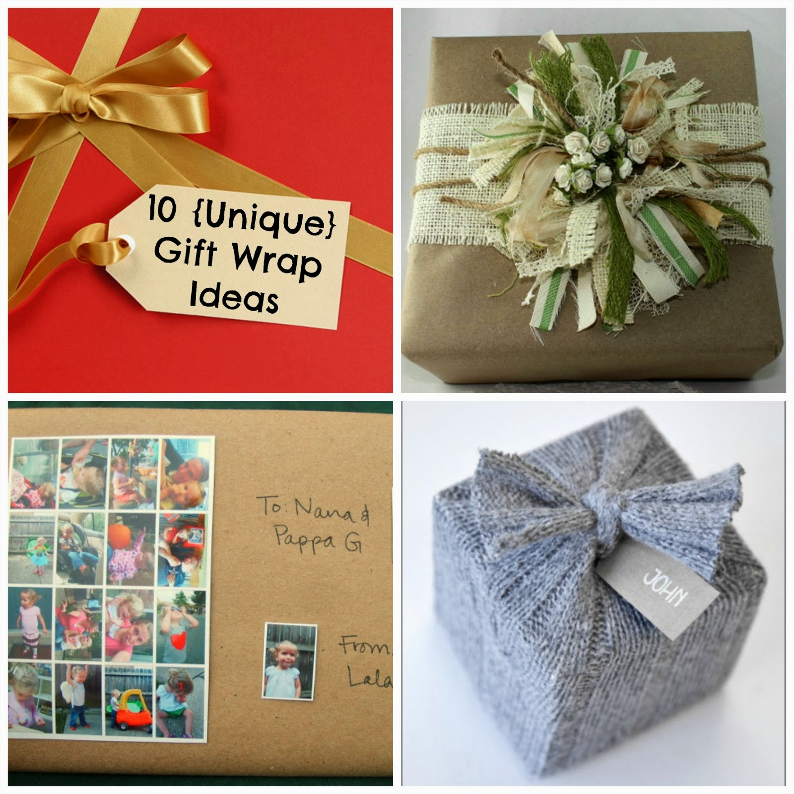 10 unique gift wrap ideas fun home things
