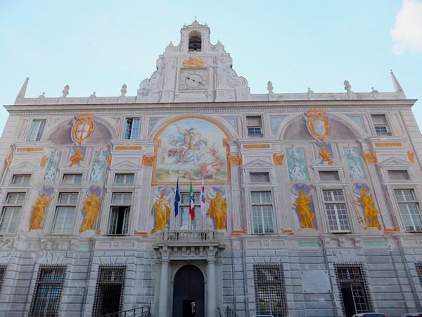 gênes genova palazzo san giorgio porto antico