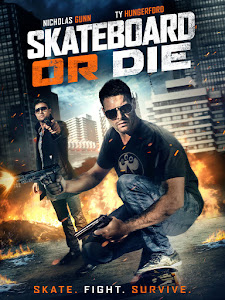 Skateboard or Die Poster